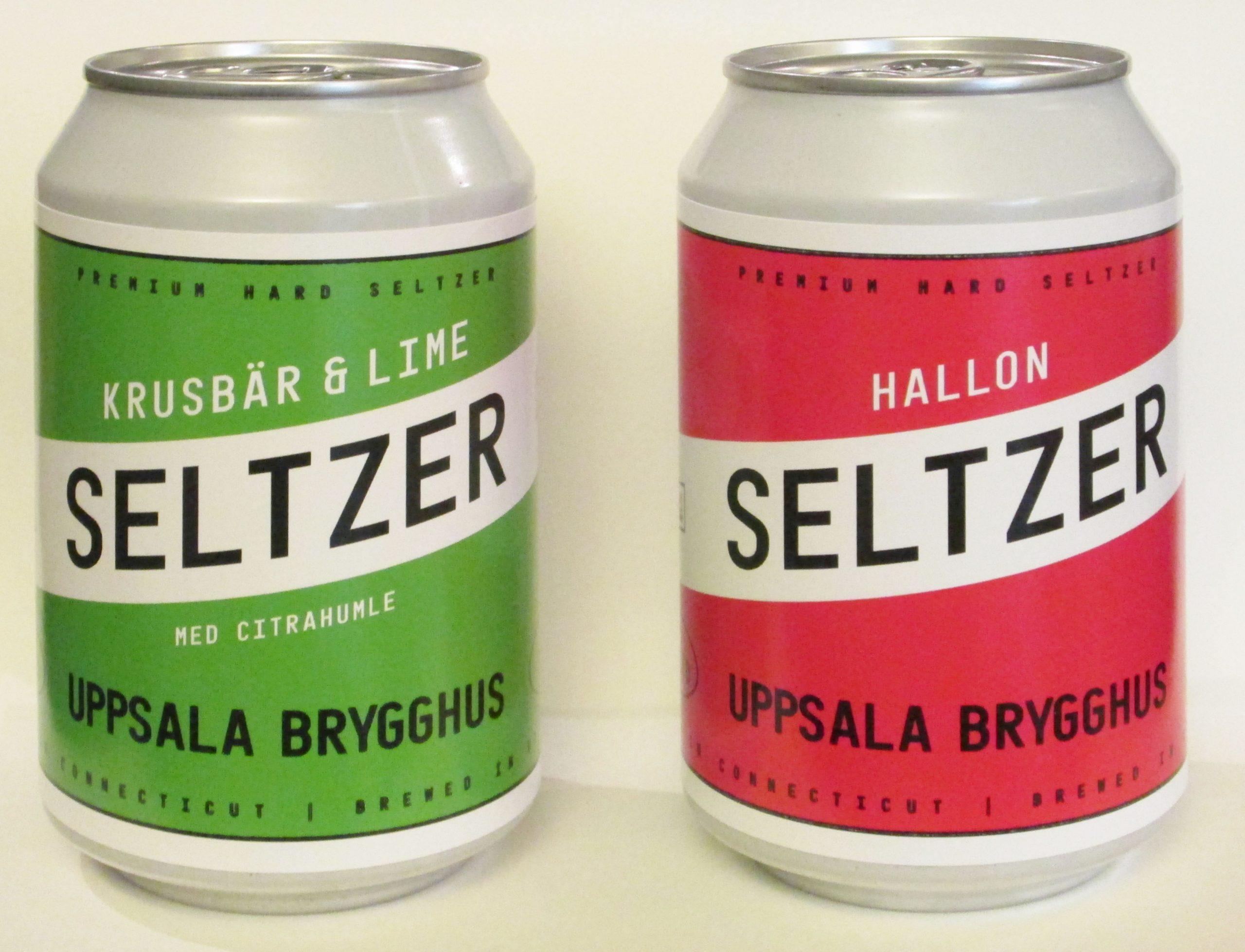 Hard Seltzer från Uppsala Brygghus