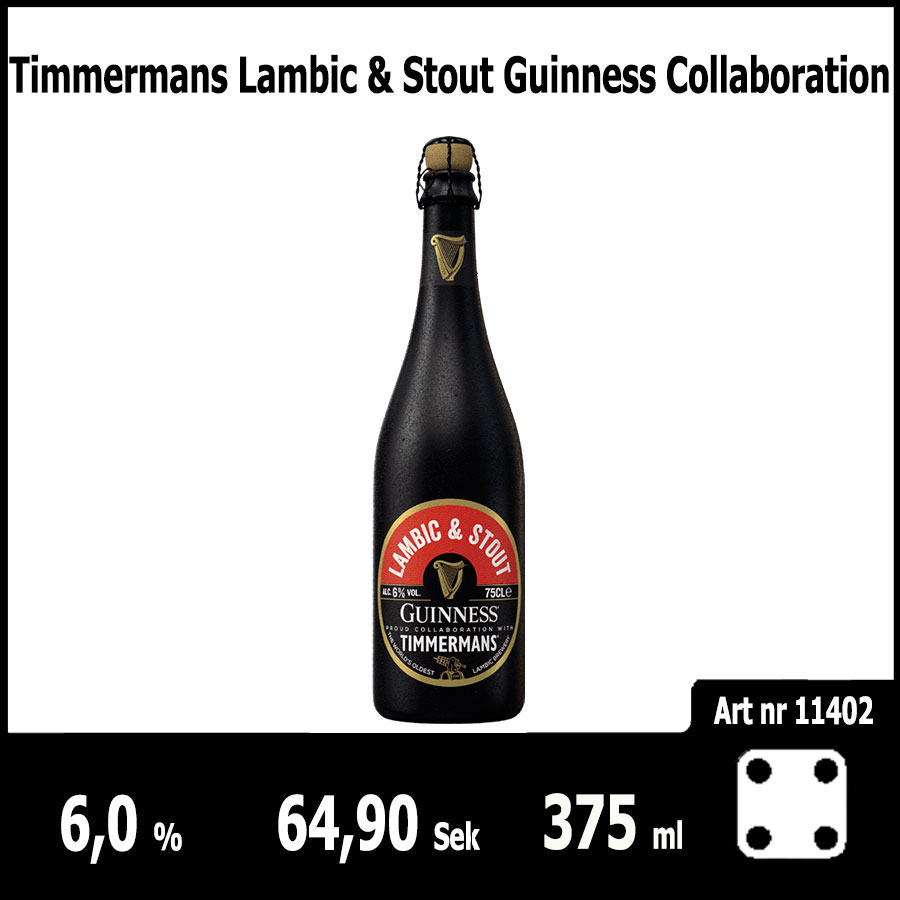 Timmermans Lambic & Stout Guinness Collaboration