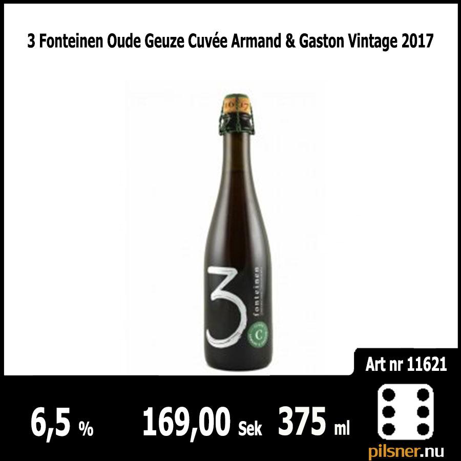 3 Fonteinen Oude Geuze Cuvée Armand & Gaston Vintage 2017