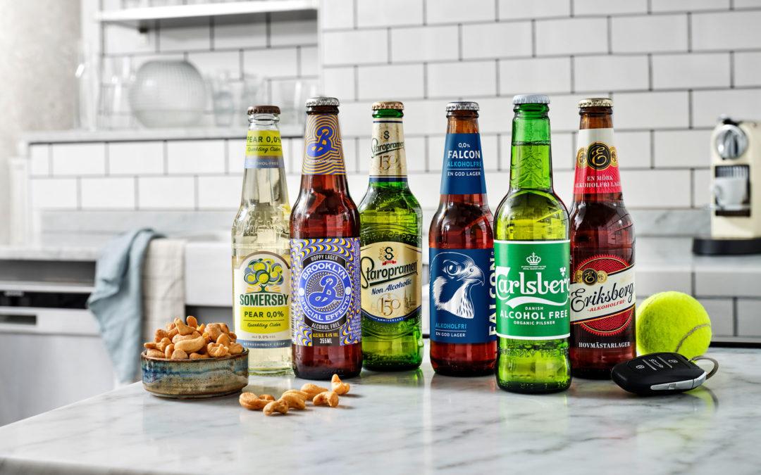 Nätförsäljningen av alkoholfri öl slår rekord