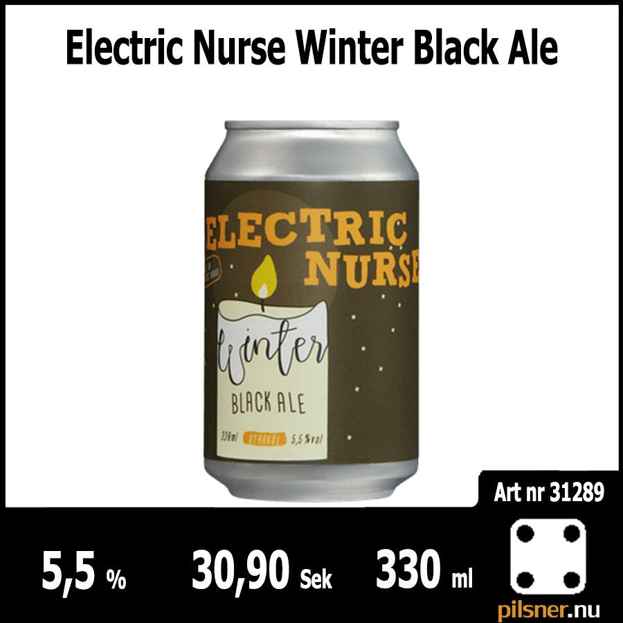Electric Nurse Winter Black Ale
