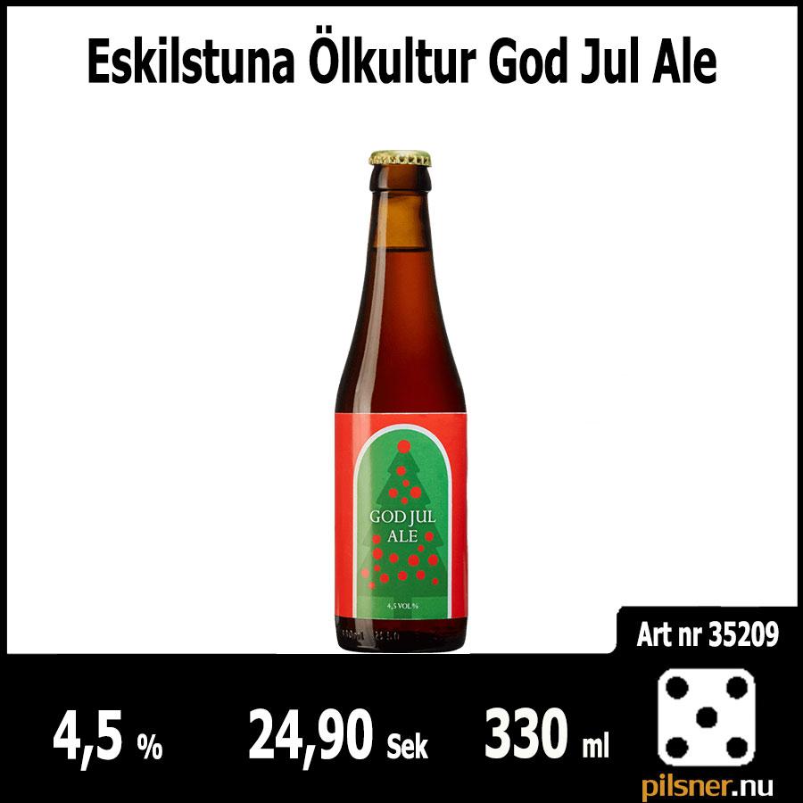 Eskilstuna Ölkultur God Jul Ale
