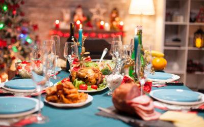 Öl och klassisk julmat i ljuv kombination