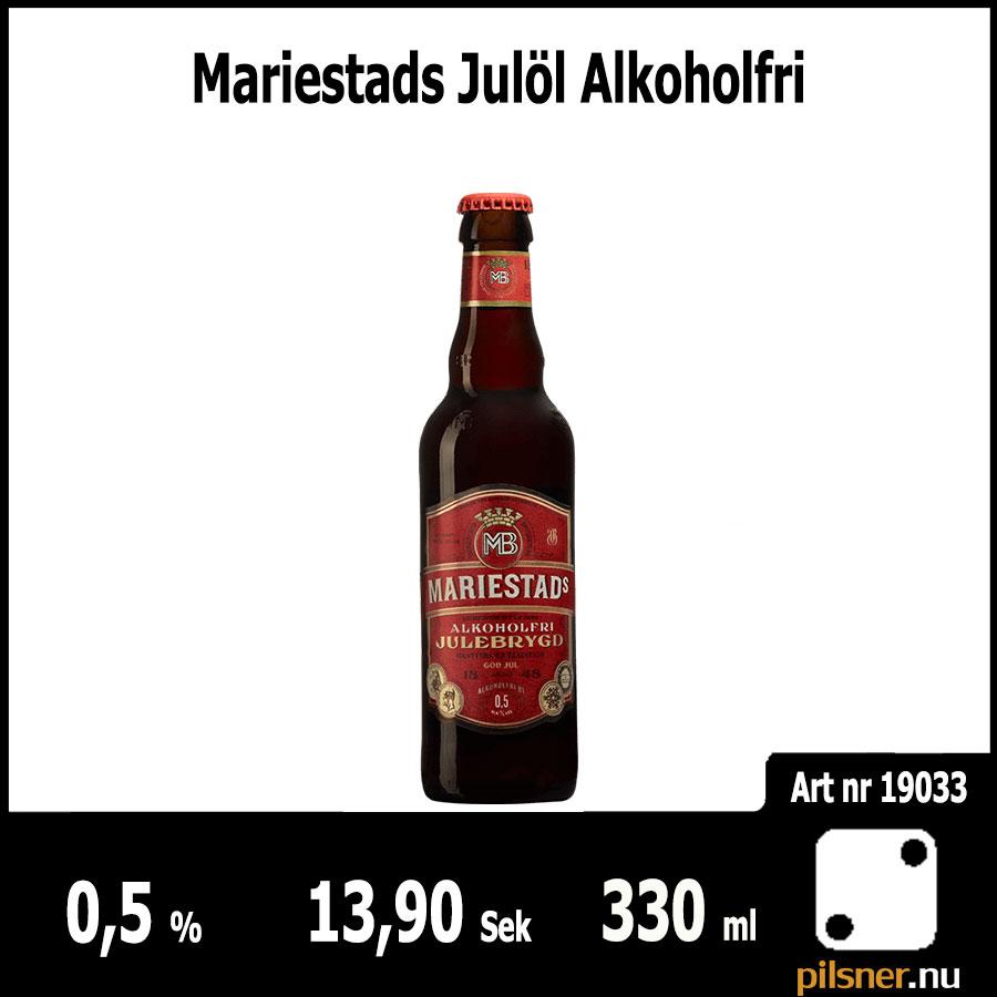 Mariestads Julöl Alkoholfri