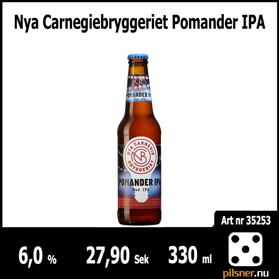 Nya Carnegiebryggeriet Pomander IPA