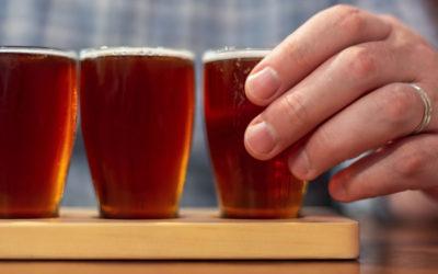 SYRLIG ÖL Flamländsk röd och brun öl