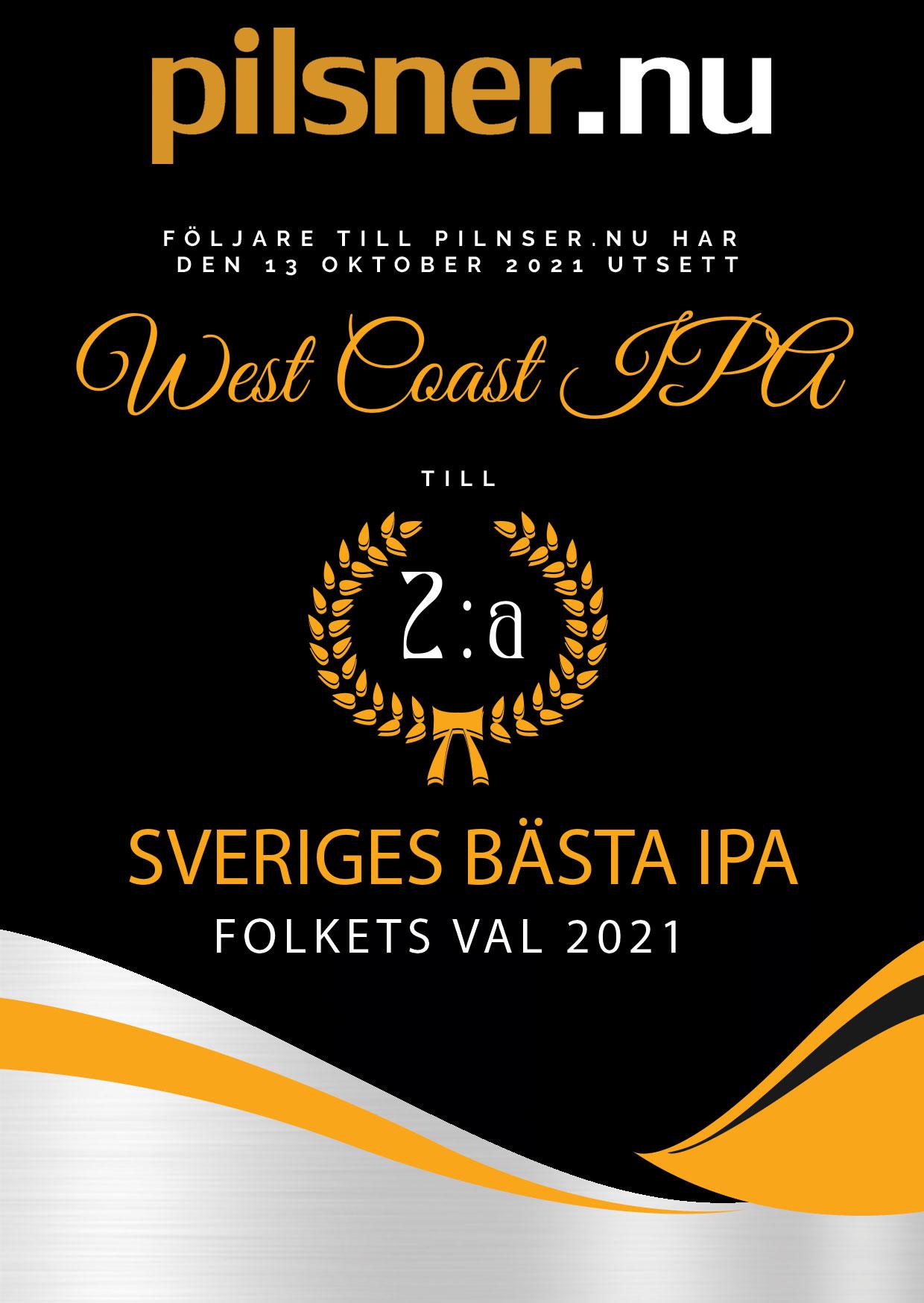 Diplom IPA 2a IPA West Coast IPA Stigbergets