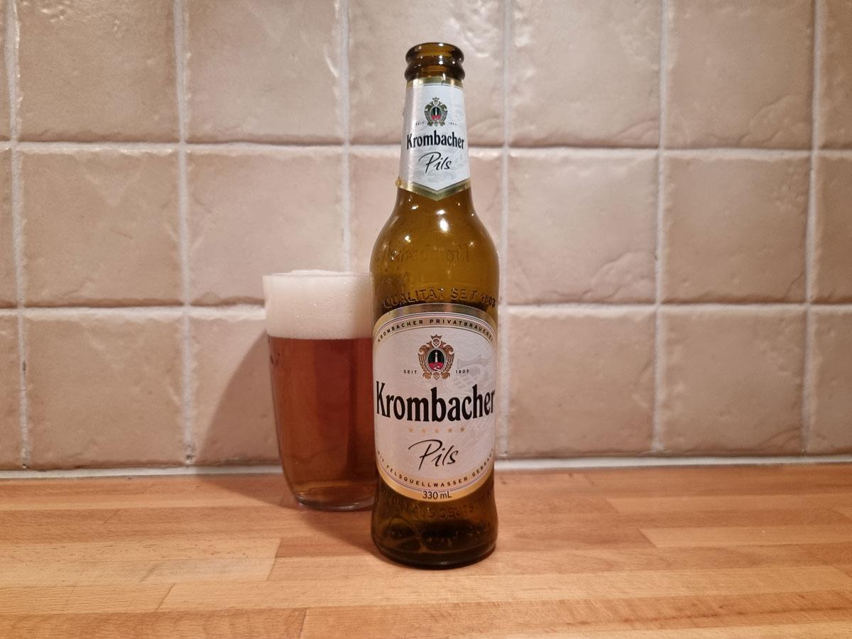 Krombacher Flaska